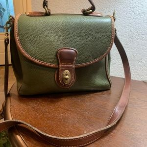 Olive Green Coach Purse